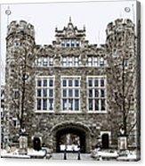 Mcbride Gateway - Bryn Mawr College Acrylic Print