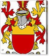 Mccarron Coat Of Arms Irish Acrylic Print