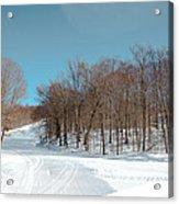 Mccauley Mountain Ski Area Vii- Old Forge New York Acrylic Print