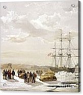 Mcclure Arctic Expedition, 1850s Acrylic Print