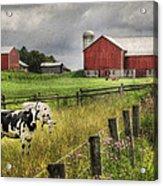 Mcclure Farm Acrylic Print
