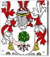 Mccluskie Coat Of Arms Irish Acrylic Print
