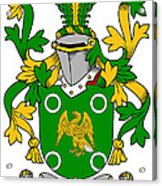 Mcconville Coat Of Arms Irish Acrylic Print