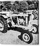 Mccormick Deering Farmall F12 Classic Tractor During Vintage Tractor Rally At Glenarm Castle Open Day County Antrim Northern Ireland Acrylic Print