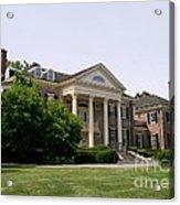 Mccormick Mansion Acrylic Print