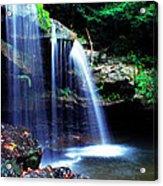 Mccoy Falls Birch River Acrylic Print