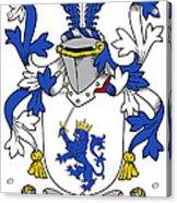 Mccrery Coat Of Arms Irish Acrylic Print