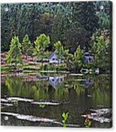 Mcintosh Lake In Washington Acrylic Print
