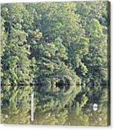Mckamey Lake Calm Reflections Acrylic Print