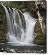 Mckay Crossing Falls In Eastern Oregon Acrylic Print