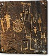 Mckee Ranch Petroglyphs Acrylic Print