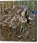 Mcleans Auto Wrecker - 12 Acrylic Print