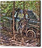 Mcleans Auto Wrecker - 14 Acrylic Print