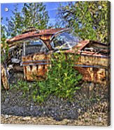 Mcleans Auto Wrecker - 2 Acrylic Print