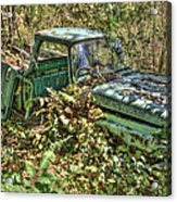 Mcleans Auto Wrecker - 5 Acrylic Print