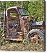 Mcleans Auto Wrecker - 6 Acrylic Print