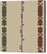 Mcloughlin Written In Ogham Acrylic Print
