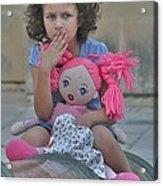 Mdina Girl Acrylic Print