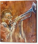 Me And My Trumpet Acrylic Print