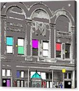 Meaders Theater 1919 Washington D.c. 1919-2010 Acrylic Print