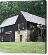 Meadow Run Mill Acrylic Print