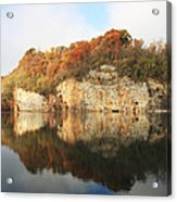 Mead's Quarry In Autumn Acrylic Print