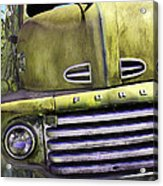 Mean Green Ford Truck Acrylic Print