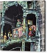 Mechanical Clock In Munich Germany Acrylic Print