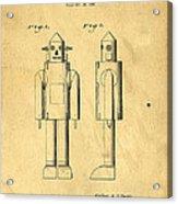 Mechanical Man Patent Acrylic Print