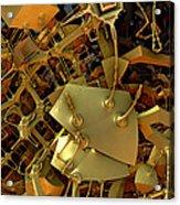 Mechanical Olfactory Receptors.  2012  52/90 Cm. Acrylic Print