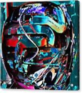 Mechanical Sphere Acrylic Print