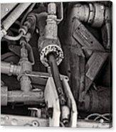 Mechanicals Bw Acrylic Print