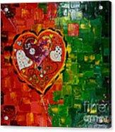 Mechanism Of Love Acrylic Print