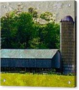 Mechanisville Md Farm Acrylic Print