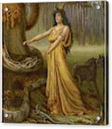 Medea, Daughter Of Aeetes King Acrylic Print
