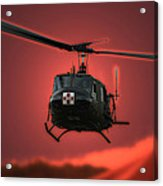 Medevac The Sound Of Hope Acrylic Print