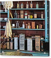 Medicinals In An Old General Store Acrylic Print