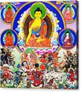 Medicine Buddha 12 Acrylic Print