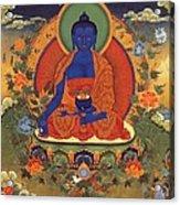 Medicine Buddha 8 Acrylic Print