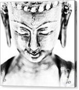 Medicine Buddha Monochrome Acrylic Print