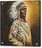 Medicine Chief Acrylic Print