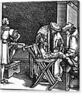 Medicine: Surgery, 1537 Acrylic Print