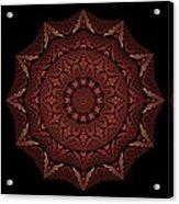 Medicine Wheel Dragonspur Fractal K12-4 Acrylic Print