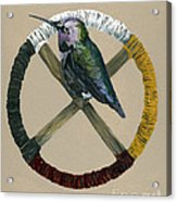 Medicine Wheel Acrylic Print