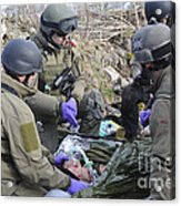 Medics Of The British Special Forces Acrylic Print