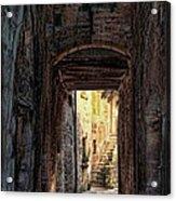 Medieval Alley Acrylic Print
