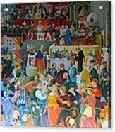 Medieval Banquet Acrylic Print