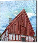 Medieval Building Acrylic Print
