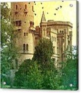 Medieval Castle - Old World  Acrylic Print