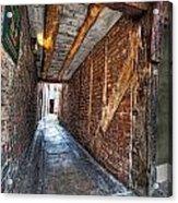 Medieval Doorway Acrylic Print